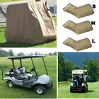 S M L Size Waterproof 4 Passenger Golf Cart Storage Cover Protect EZ GO Club Car
