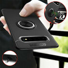 For Samsung Galaxy S10 Lite Plus A8s Hybrid Magnetic Ring Holder TPU Metal Case