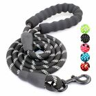 5FT Strong Dog Leash Long Obedience Foot Feet Training Lead For M/L Dog Training