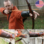 Woodland Lace Up Leather Arm Guard Bow Hand Shooting Glove