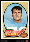 1970 Topps #173 Walt Sweeney Chargers EX/MT $2.45 USD on eBay