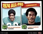 1975 Topps #221 Willie Buchanon / Lemar Parrish - All-Pro C Packers / Bengals NM $1.3 USD on eBay