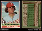 1976 Topps #513 Bart Johnson White Sox EX/MT
