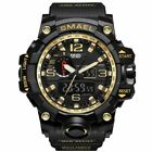 SMAEL Armbanduhr LED Digitaluhr Analog Sportuhr Militar Outdoor Wasserdicht C F
