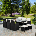 Lite 10 Seater 11 Piece Rattan Cube Dining Table Garden Furniture Patio Set