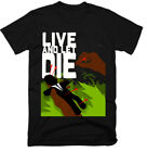 LIVE AND LET DIE , 1973 , OLD MOVIE ,100% COTTON ,MENS T-SHIRT , G0021 $24.29 CAD on eBay