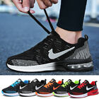 Kyпить Mens Womens Trainers Fly-knit Sports Running Shoes Air Bottom Casual Trainers UK на еВаy.соm