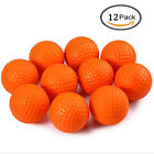 Practice Golf Balls 12 Pcs/Pack Elastic PU Foam Sponge Indoor & Outdoor Training