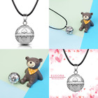 """Harmony Bola Pregnancy Necklace Vintage Chime Pendant 30"""" & 45"""" Cord Angel Bell"""