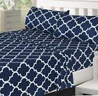 Utopia Bedding 4 Piece Bed Sheet 1 Flat Sheet, 1 Fitted Sheet,and 2 Pillow Cases image
