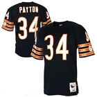 Walter Payton #34 Chicago Bears Men's Navy Home Game Vintaged Throwback Jersey on eBay