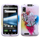 For Motorola Atrix 4G Design Snap-On Hard Case Phone Cover