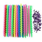 18-35Pcs Styling Barber Salon Hairdressing Spiral Hair Wave Perm Rod Hair Beauty