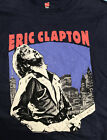 ERIC CLAPTON 2018 MADISON SQ GARDEN NY EVENT T-SHIRT BLACK