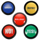Bullshit Maybe No Sorry Yes Sound Talking Button Home Party Funny Gag Toy Code