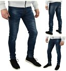 Купить Mens Slim Fit Stretch Jeans Comfy Fashionable Super Flex Denim Pants