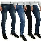 Внешний вид - Mens Slim Fit Stretch Jeans Comfy Fashionable Super Flex Denim Pants