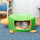 Soft Pet Bed Cave Puppy Dog Cute Kennel Turtle Shape Bag Warm House Cat Sleeping