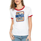 Bicycle Race Funny T-Shirt Womens Cotton Short Sleeve Halloween Tee Tops