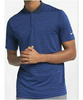 Mens Nike Golf Victory Stripe DRI-FIT Polo Shirt Navy Blue Royal Blue 891853 431 $24.99 USD on eBay