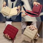 Women's Short Small Wallet Lady Leather Folding Coin Card Holder Money Purse New image