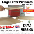 C4 A4 PIP Royal Mail PRICING IN PROPORTION POSTAL BOXES Large Letter Mailers