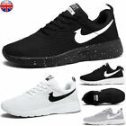 Kyпить Mens Womens Gym Sports Shoes Running Trainers Lace Up  Casual Stripe Sneakers UK на еВаy.соm