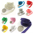 10mm TWILL TAPE *32 COLOURS* SEWING WEBBING LIGHT COTTON BUNTING GOWNS SCRUBS
