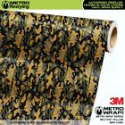 MINI MILITANT YELLOW Camouflage Vinyl Vehicle Car Wrap Camo Film Sheet Roll