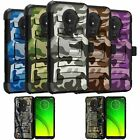 For Motorola Moto G7 Power | Moto G7 Supra Holster Case - Camo Designs