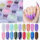 NICOLE DIARY Holo Chameleon Dipping Powder Shimmer Nail Art Tips NO Gel Polish