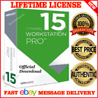 VMWARE WORKSTATION 15 PRO 🔑LIFETIME LICENSE🔑OFFICIAL 🔥FAST @ DELIVERY