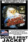 UNITED STATES ARMY STRONG VETERAN AMERICAN PRIDE EAGLE PATRIOTIC USA JACKET 611