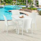 Gardeon 5pcs Outdoor Dining Furniture Set Wicker Rattan Garden Table And Chairs