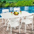 Gardeon Outdoor Dining Furniture Set Wicker Garden Table And Chair 7/5/4 Pcs