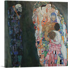 ARTCANVAS Death and Life 1910 Canvas Art Print by Gustav Klimt