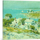 ARTCANVAS New England Headlands 1889 Canvas Art Print by Childe Hassam