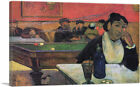 ARTCANVAS Night Cafe at Arles 1888 Canvas Art Print by Paul Gauguin