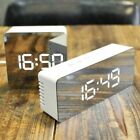 Mirror LED Alarm Clock Multifunction Digital Temperature Snooze Clock Home Decor