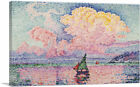 ARTCANVAS Antibes - The Pink Cloud 1916 Canvas Art Print by Paul Signac