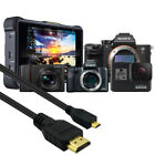 HDMI to Micro HDMI Video Cable for GoPro Hero 7/6/5 CANON EOS M50, M5, M6, M100