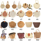 Kyпить Summer Women Straw Rattan Beach Bag Woven Crossbody Shopping Handbag Tote Purse на еВаy.соm
