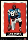 1964 Topps #157 Earl Faison Chargers VG/EX $2.25 USD on eBay