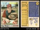 1970 Topps #184 Ray Fosse Indians GOOD