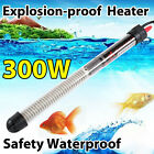 25-300W Aquarium Fish Tank Heater Thermometer Submersible Thermostat Waterproof