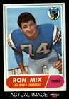 1968 Topps #89 Ron Mix Chargers GOOD $1.0 USD on eBay