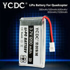 3.7V 380-1200mAh Quadcopter Battery For JJRC H37 GOOLRC T37 Wltoys V930 V977 08