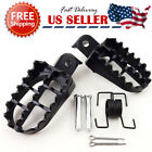 BLACK FOOT PEGS FOR YAMAHA PW 50 80 TW200 PW50 PW80 50 PIT DIRT BIKE image