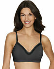 Hanes ComfortFlex Fit Wirefree Bra Comfort Evolution Lace Womens SmoothTec Band