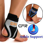 Adjustable Sports Elastic Ankle Brace Support Basketball Protector Foot Wrap SFC $12.99 USD on eBay